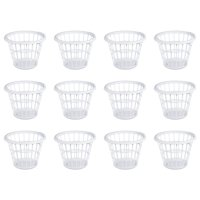 Sterilite, 1 Bushel/35 L Laundry Basket, Mainstay White, Case of 12