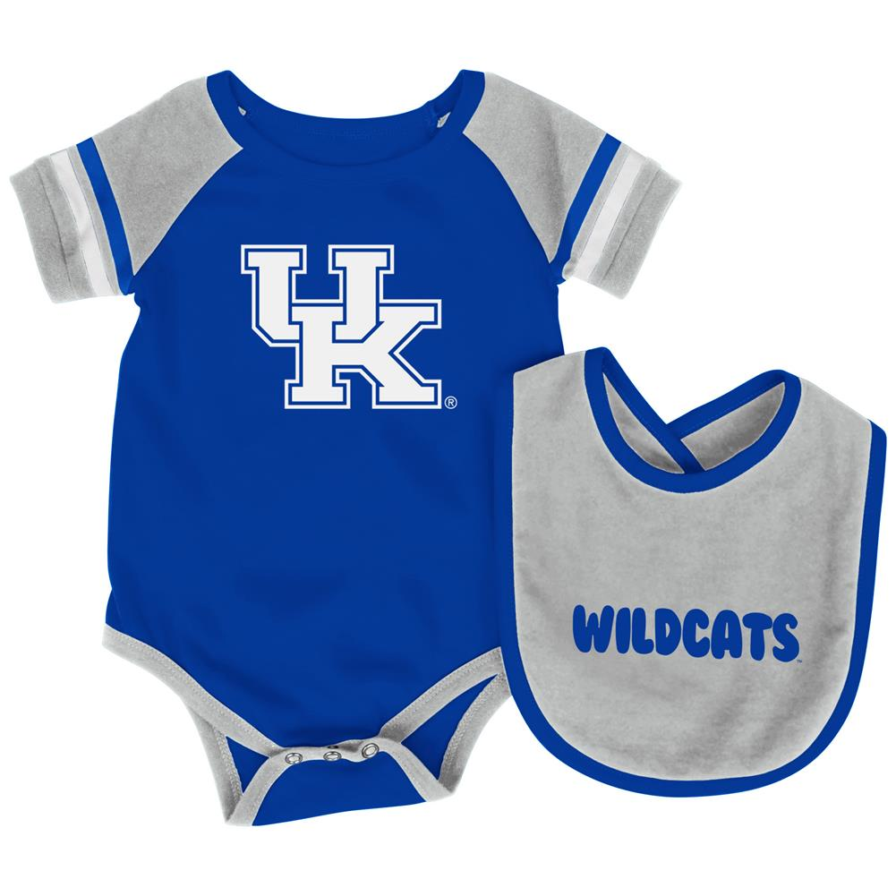 Kentucky Wildcats UK Baby Bodysuit and Bib Set Infant Jersey by Colosseum