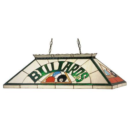 Billiard and Rack Oblong Pendant (Billiard Oblong Pendant)