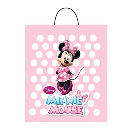 Disguise Costumes Pink Minnie Essential Treat Bag