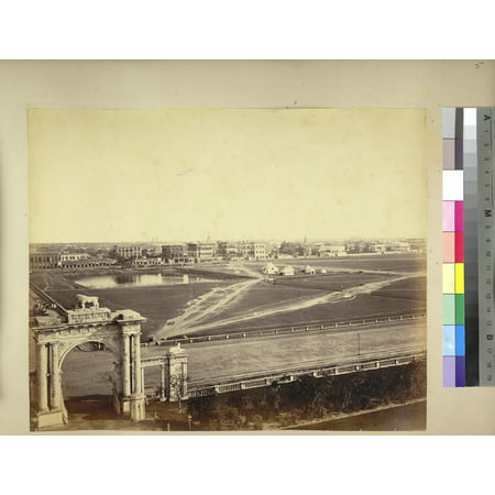LAMINATED POSTER Photograph from the Vibart Collection, of the Maidan at Calcutta taken by an unknown photographer ab Poster Print 24 x 36