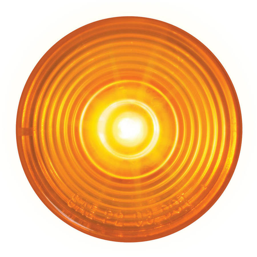 """Grand General 2"""" Fleet Red LED Marker and Clearance Sealed Light"""