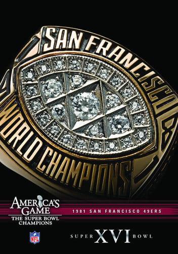 NFL America's Game: San Francisco 49ers Super Bowl XVI (DVD) by Allied Vaughn