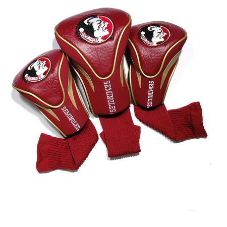 - Team Golf NCAA Florida State 3 Pack Contour Head Covers