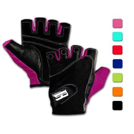 Workout Gloves With Wrist Support - Best Gym Gloves For Women- Premium Weight Lifting Gloves For Gym - Ideal Wrist Wrap Gloves, Crossfit Gloves, Training Gloves, Support Gloves (Purple