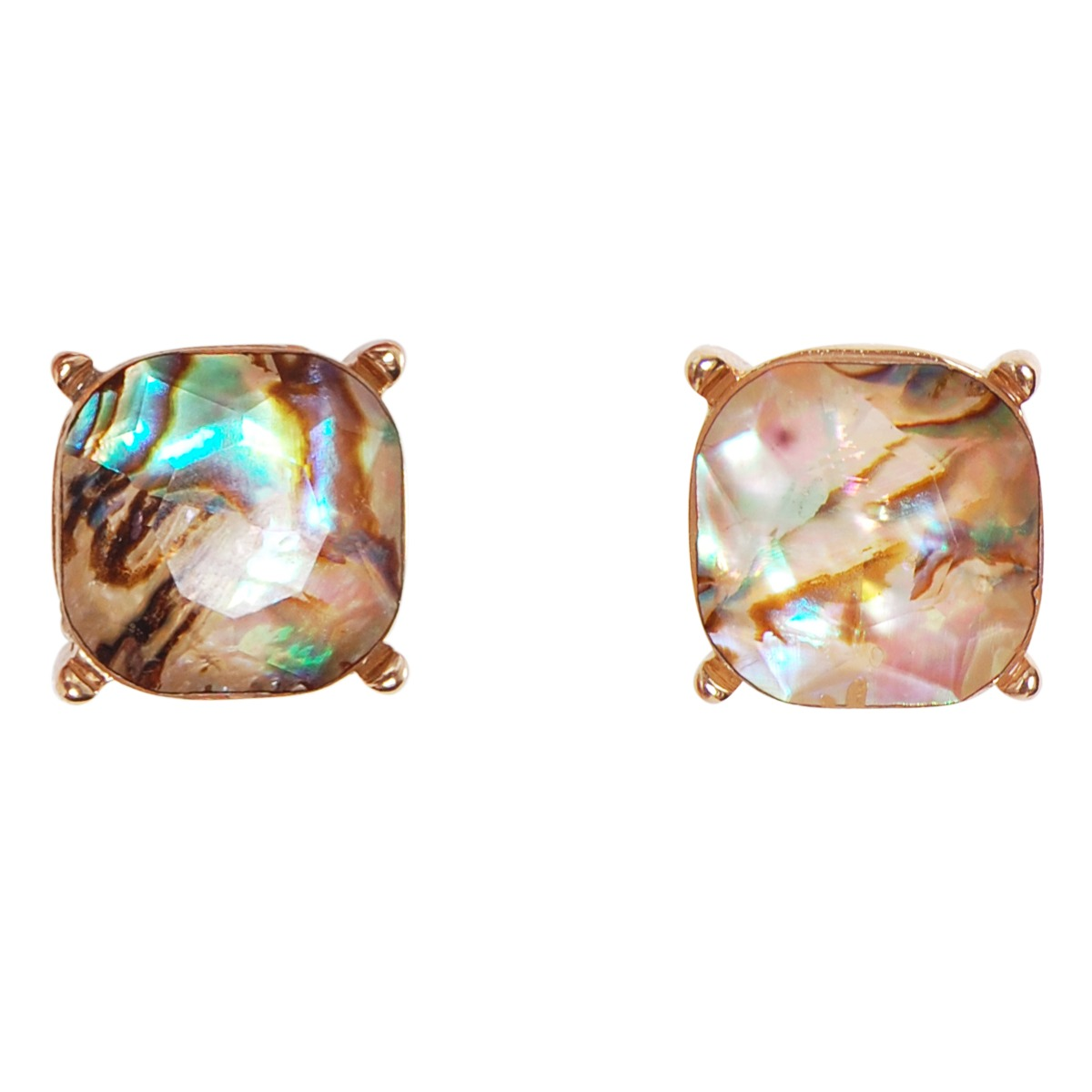 Bridesmaid earrings Gemstone Stud Earrings Minimalist Earring studs Gold Post Earrings Labradorite Stud Earrings