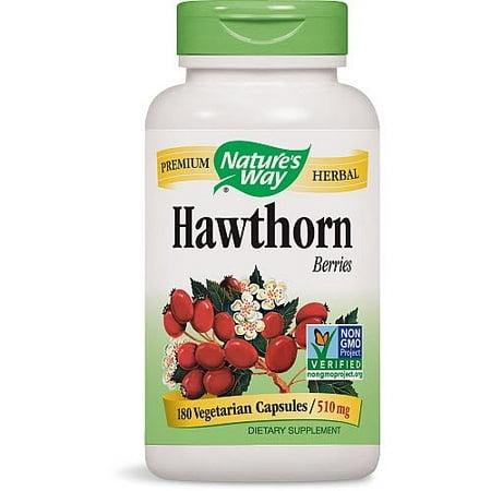 Nature's Way Hawthorn Berries 180 Vegetarian Capsules
