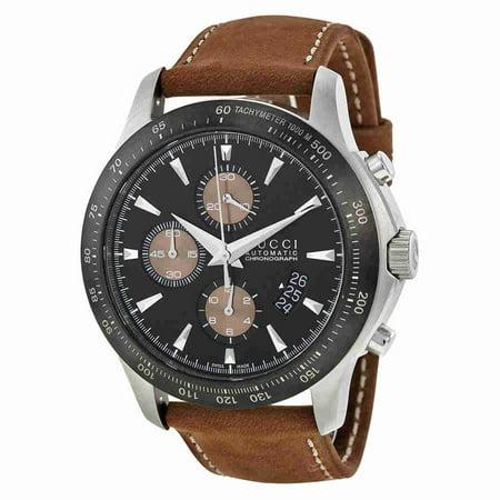 824c653fb735 Gucci - Gucci G-Timeless Black Dial Leather Mens Watch YA126240 -  Walmart.com