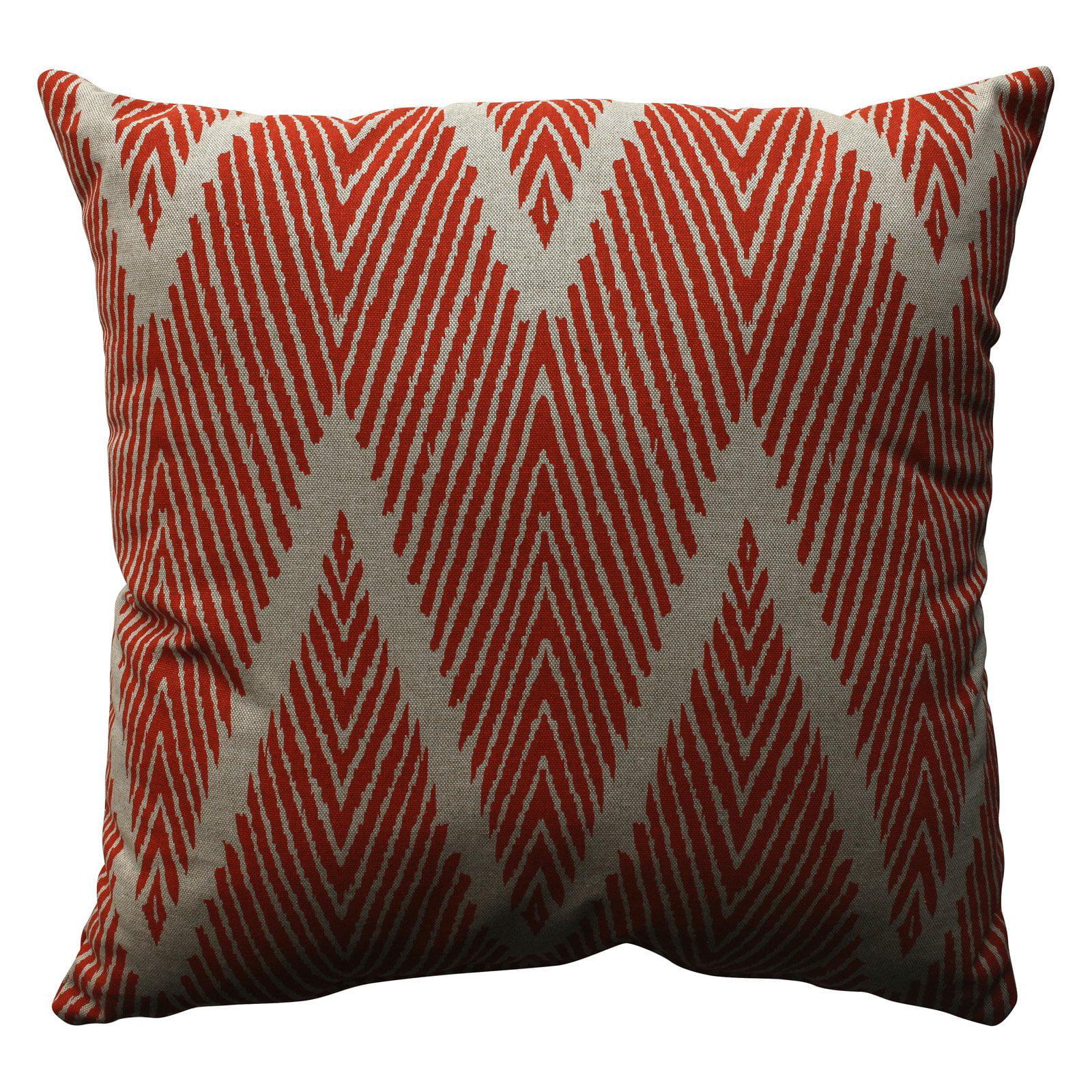 Pillow Perfect Bali Zig Zag Throw Pillow