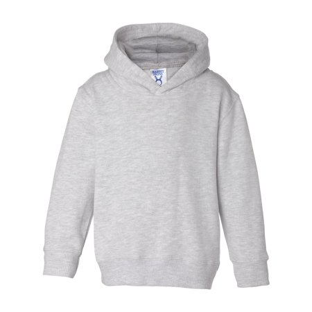 3326 Fleece Hooded Pullover - Ash - 2 Toddler