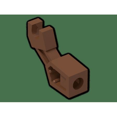 Body Parts Arm (Brick Building Sets Original LEGO® Parts: Minifig Body Part, Mechanical Arm #98313 (Reddish Brown))