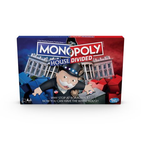 Monopoly House Divided Board Game: Elections, White House Themed Game