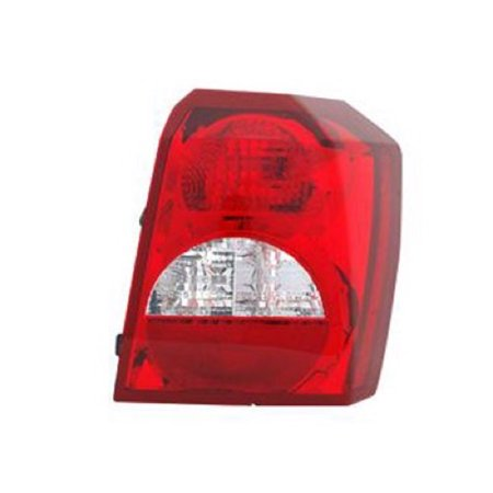Go-Parts » 2008 - 2012 Dodge Caliber Rear Tail Light Lamp Assembly / Lens / Cover - Right (Passenger) Side 5160360AA CH2801185 Replacement For Dodge Caliber