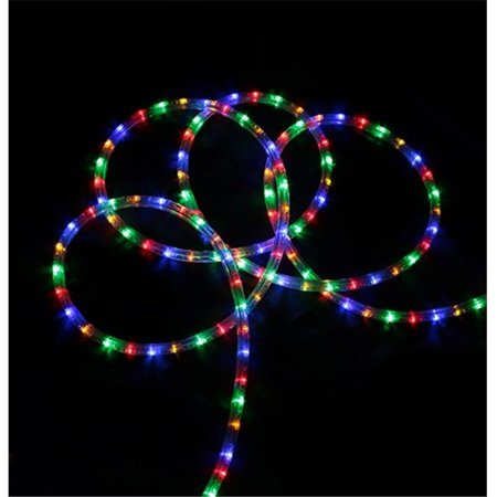 NorthLight 18 Ft Multi Color LED Indoor Outdoor Christmas Rope Lights Wa