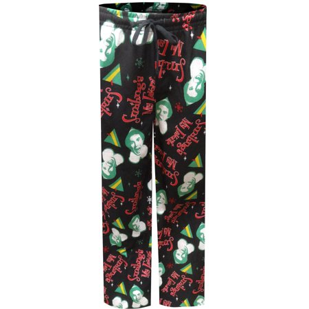 Elf Movie Buddy the Elf Modern Flannel Lounge Pants - Buddy The Elf Clothes