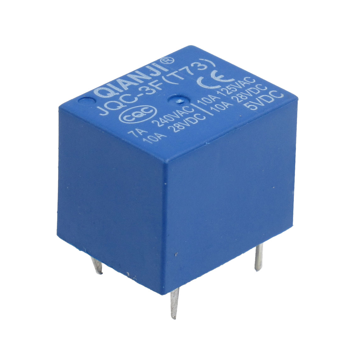 Joc 3ft73 Dc 5v Coil Electromagnetic Power Relay 5 Pin Electrical For Dummies