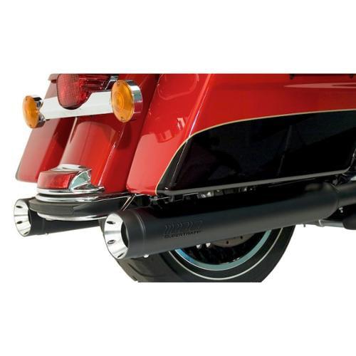 Kerker Stout Mufflers Black Fits 10-13 Harley-Davidson Road King Classic Anniversary FLHRC