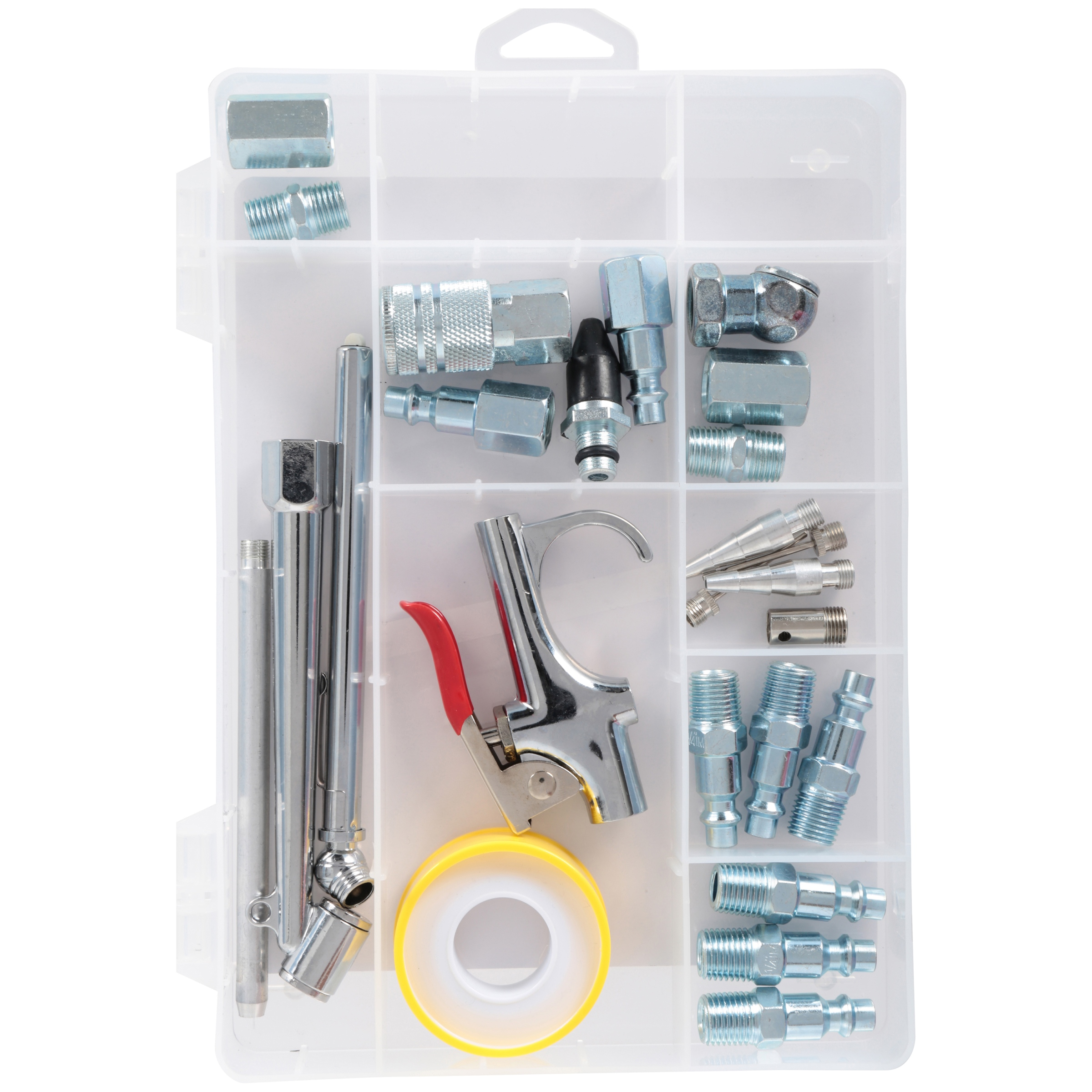 Primefit® Industrial Style 1/4 Body Tool Accessory Kit 25 pc Box