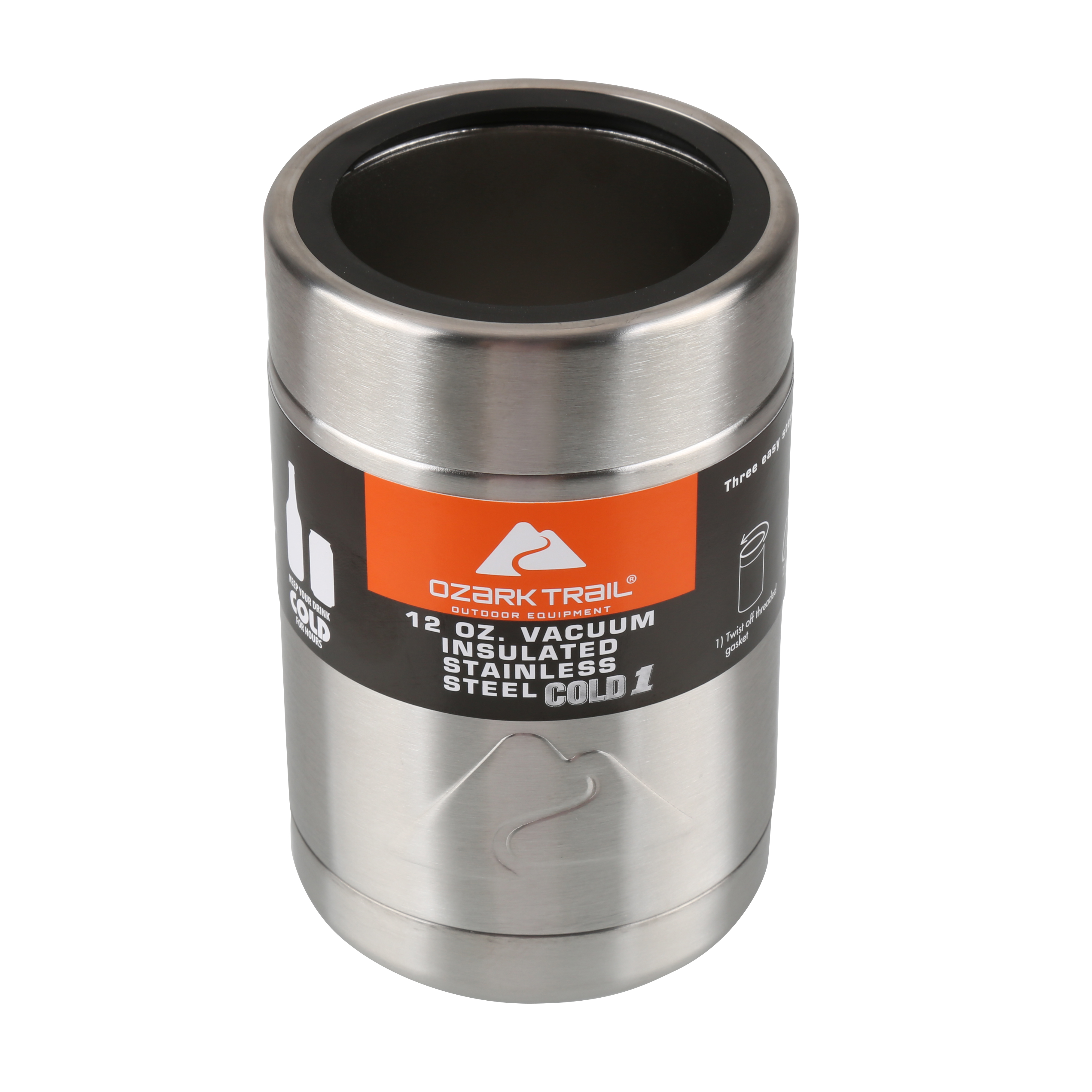 9720be95889 Ozark Trail 12 Ounce Double Wall Can Cooler Cup - Walmart.com