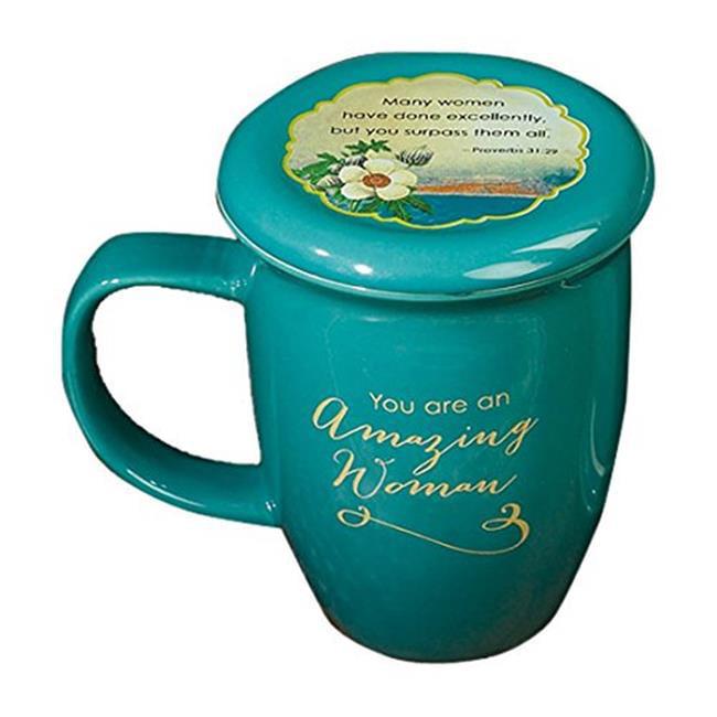CA Gift 135085 14 oz Amazing Woman Pottery Mug - image 1 de 1