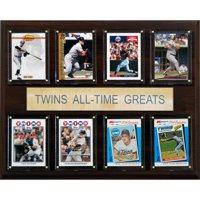 C&I Collectables MLB 12x15 Minnesota Twins All-Time Greats Plaque