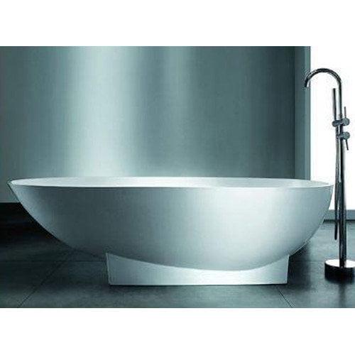 Spa Escapes Valira 70.87'' x 35.5'' Artificial Stone Freestanding Bathtub