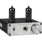 FX-Audio - TUBE-02 - Tube Headphone Amplifier - Silver