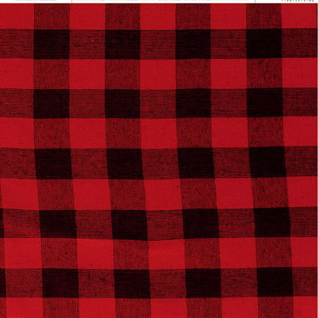 """Red Buffalo Check - American Crafts Everyday Single-Sided Cardstock 12""""X12"""" (25/pack)"""