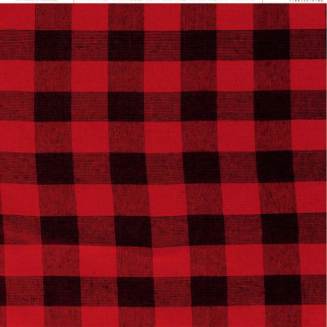 "Red Buffalo Check - American Crafts Everyday Single-Sided Cardstock 12""X12"" (25/pack)"