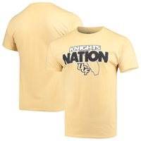 Men's Russell Athletic Gold UCF Knights Slogan T-Shirt