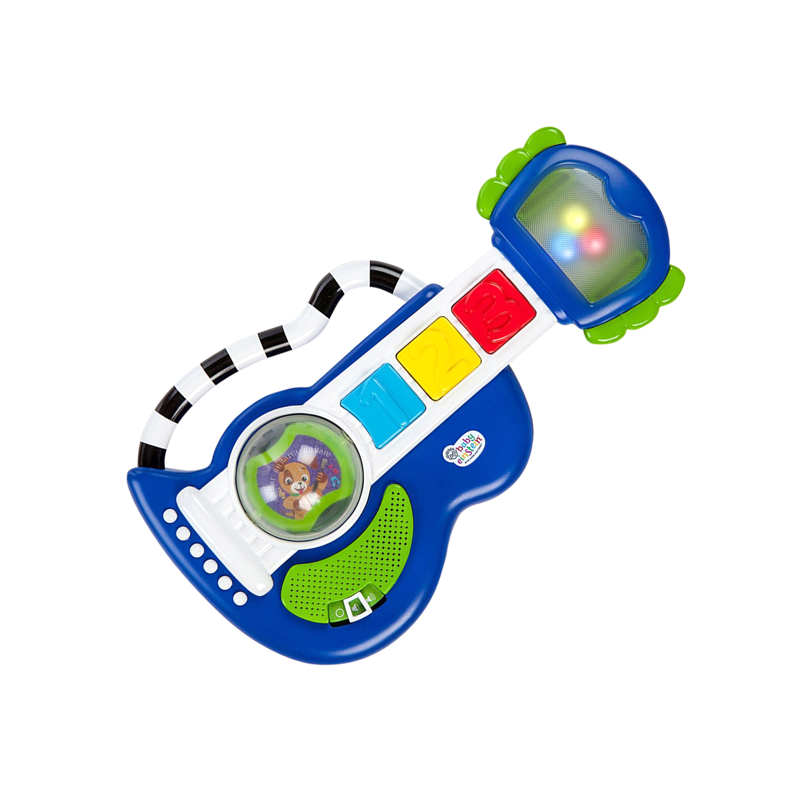 Baby Einstein Rock, Light & Roll Guitar Toy by Baby Einstein