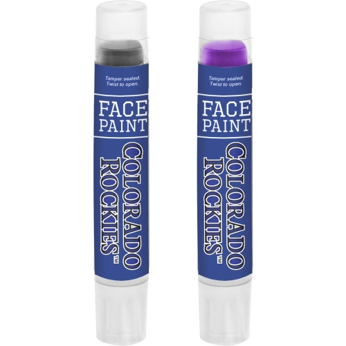 Colorado Rockies Face Paint Two-Pack - No Size