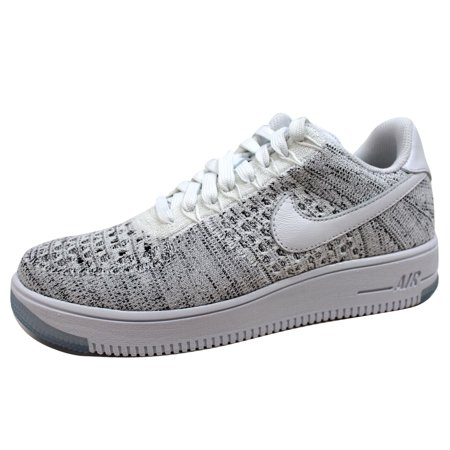 online store a5b4f ab6d6 Nike Women s Air Force 1 Flyknit Low White White-Black 820256-103. Average  rating 0out of5stars, based on0reviewsWrite a review. Nike. This button  opens a ...