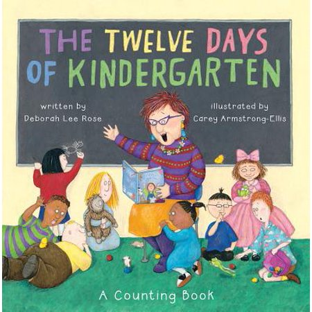 - 12 Days of  Kindergarten : A Counting Book