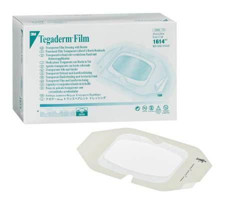 Tegaderm Transparent Film Dressing ''4 x 4 , 1 Count'' 4 Pack