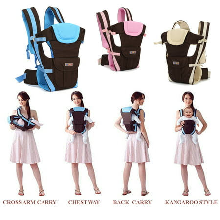 Lightweight All Carry Positions 4-Positions, 360° Ergonomic All Season Baby & Child Infant Toddler Newborn Carrier Backpack Front Back Wrap Rider Sling Soft & Breathable Cotton - image 3 of 13