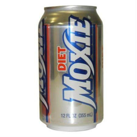 Diet Moxie Soda - 12 fl oz, 12 pack (Blueberry Soda Maine)
