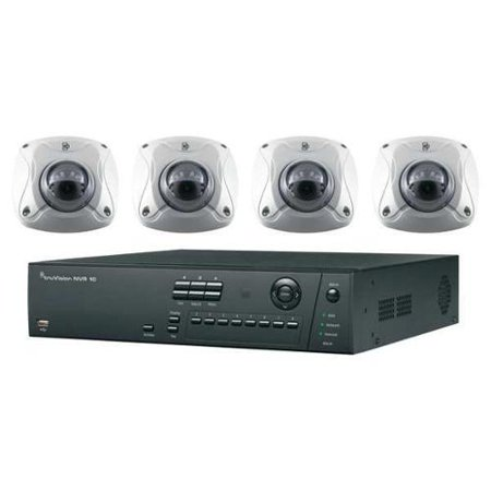 INTERLOGIX TVN-1008-KW1 Net Video Rcdr Kit,8 Chan, IR Bullet Cams G1599580