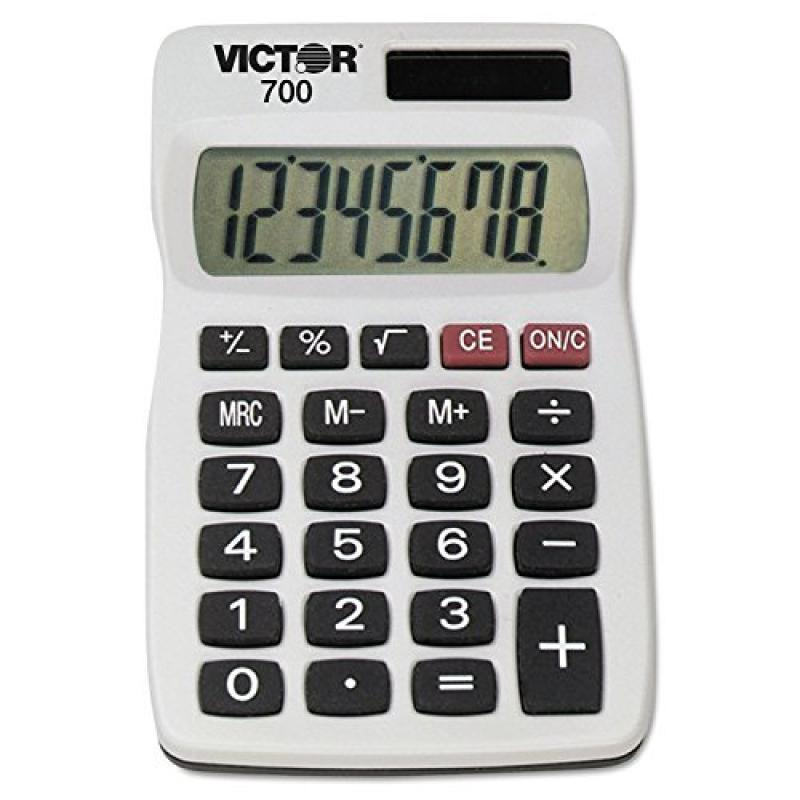 Victor Technology Victor 700 700 Pocket Calculator, 8-Dig...