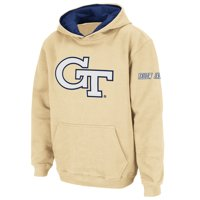 Georgia Tech Yellow Jackets Stadium Athletic Youth Big Logo Pullover Hoodie - Gold