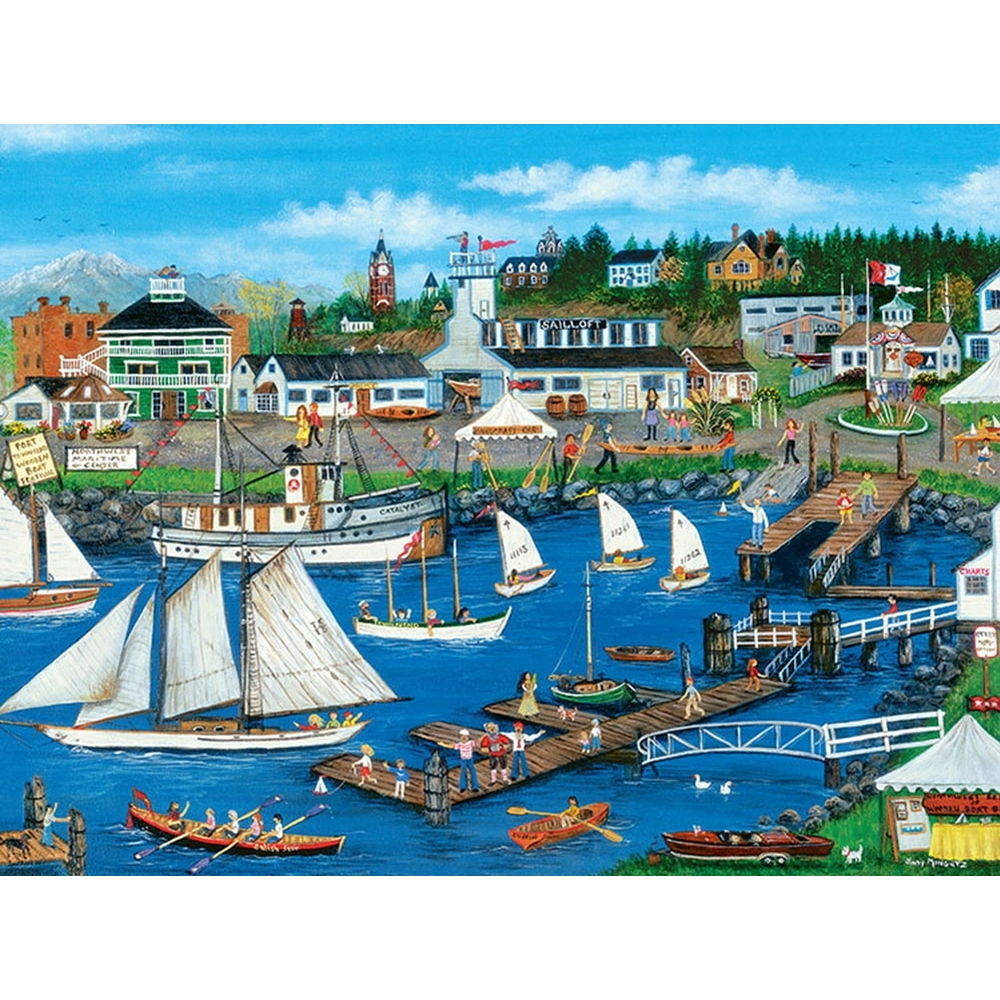 Port Townsend 500 Piece Puzzle