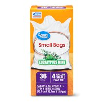 Trash Bags: Great Value Small Kitchen Bags