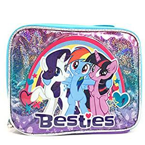 Lunch Bag - My Little Pony - Rainbow Dash Besties Girls New -