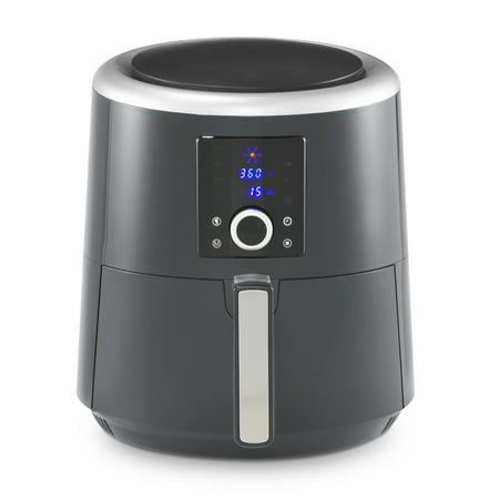 La Gourmet 6-Qt. Digital Air Fryer and Convection Oven, Charcoal