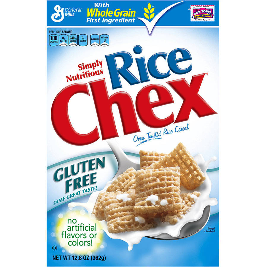 Chex Oven Toasted Rice Cereal, 12.8 oz