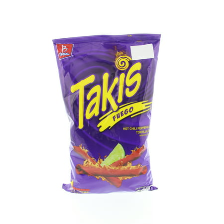 fb8008e9f888 Takis Tortilla Chips Hot Chili Pepper and Lime - Chile y Limon 9.9 Oz
