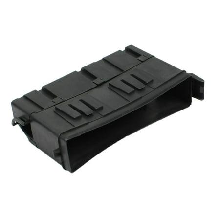 unique bargains plastic left fuse relay block box cover. Black Bedroom Furniture Sets. Home Design Ideas