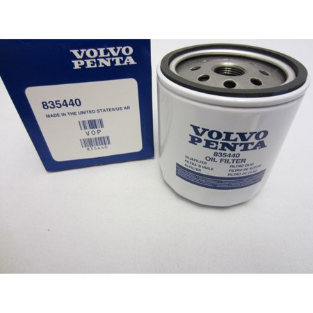 Volvo Penta New OEM 3.0L 4 Cylinder Oil Filter 835440