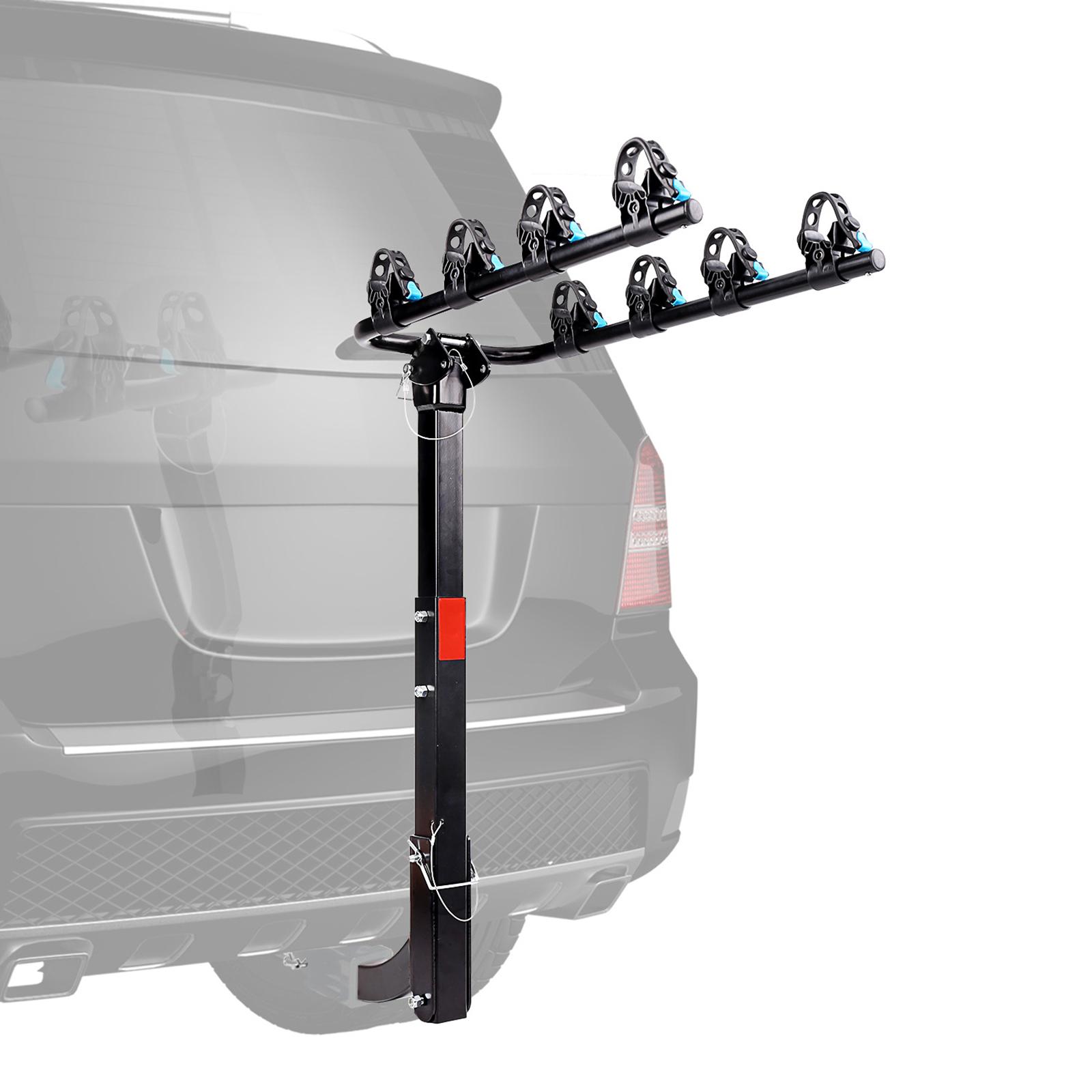 "and 2/"" Foldable Bike Rack Hitch Mount Allen Sports 2-Bike Racks for 1 1//4 in"