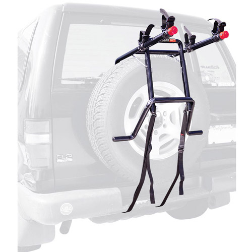 Allen Sports 302DN Deluxe 2-Bike Spare Tire Mounted Bike Rack